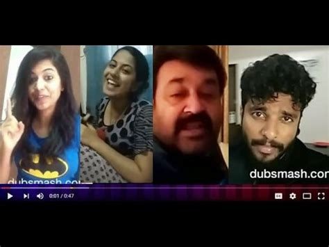 malayalam film actress dubsmash malayalam actors actress viral dubsmash videos youtube