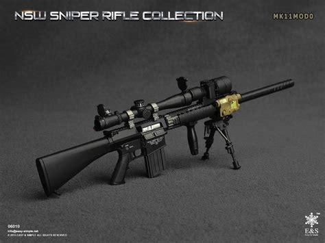 Tac 50 Sniper Rifle Green Skala 1 6 Kitbash Figure Part 1 6 easy simple nsw sniper rifle mk11mod0 rifle set