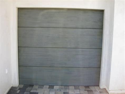 Flush Panel Teak Doors In Newport Beach Contemporary Cityscape Garage Doors