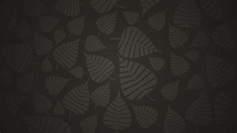Grey Wallpaper With Leaves | leaves grey background hd wallpaper