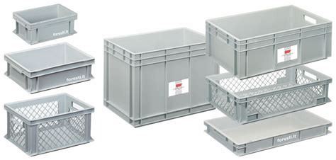 cassette plastica per alimenti contenitori plastica industriali pompa depressione