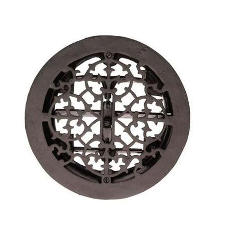 Decorative Air Vents Restorers Round Cast Iron Floor Register