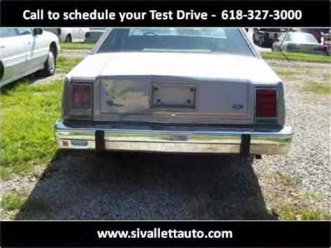 1985 ford ltd for sale in nashville illinois classified americanlisted com 1985 ford ltd crown victoria used cars nashville il youtube