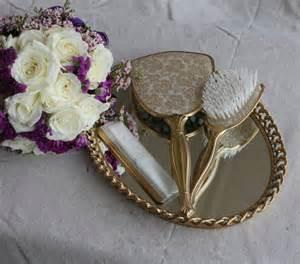 mirror brush comb 1950 s vanity set