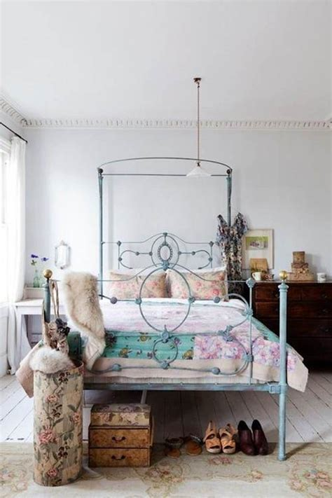 eclectic bedroom trending flower power and bohemian chic decor tres chic