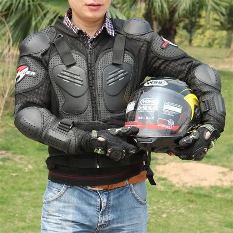 motocross protective motorcycle racing motocross full body armor jacket spine
