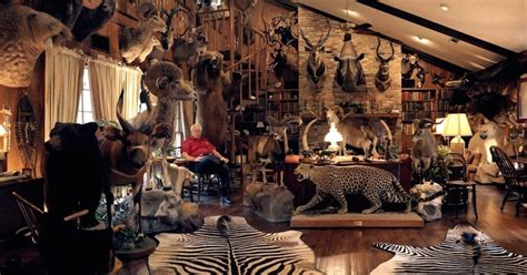 trophy rooms these 11 hunters trophy rooms are completely