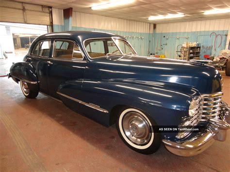 1946 cadillac series 62 4 door