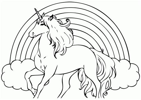 Unicorn Coloring Pages Only Coloring Pages Coloring Home Printable Colouring Pages For Kids L