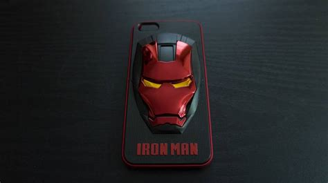 Ironman Mask Hardcase Iphone 7 7 Plus All Type Ip 3d iron marvel cool cover for iphone 5 5s ebay
