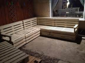 diy pallet sectional sofa and table ideas pallet