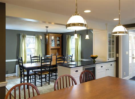 dining room remodel traditional kitchen dining room remodel remove wall between rooms to create