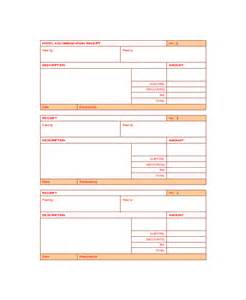 hotel receipt template pdf sle receipt templates 28 free documents in