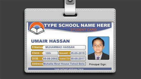 design id card using photoshop how to design id card in photoshop psd free download