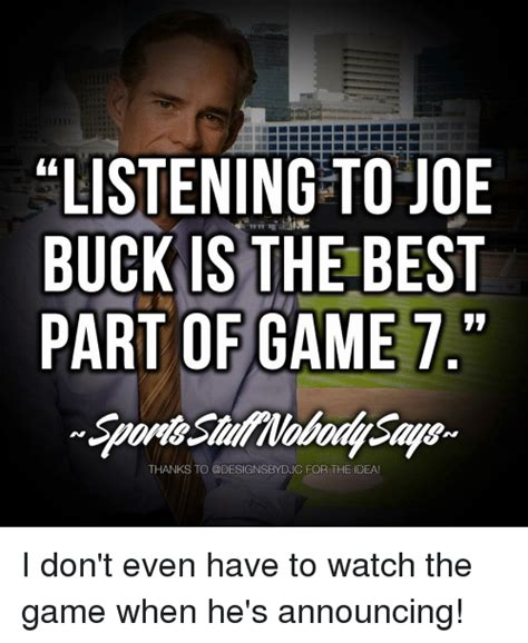 Joe Buck Memes - funny joe buck memes of 2017 on sizzle bucked