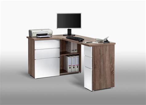 bureau informatique avec rangement bureau informatique d angle contemporain avec rangement