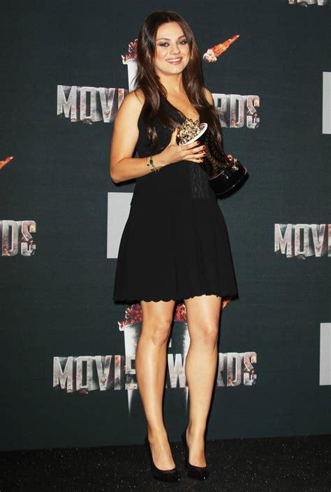 mila kunis 2014 mtv movie awards 2014 press room picture 1