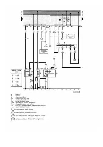2001 volkswagen beetle wiring diagram wiring diagram and