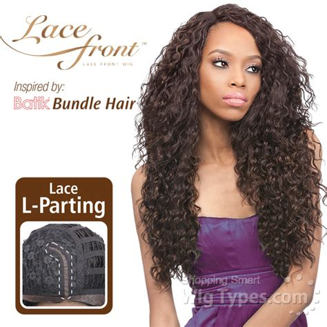 bundle hair styles with swoops outre synthetic l part lace front wig batik peruvian