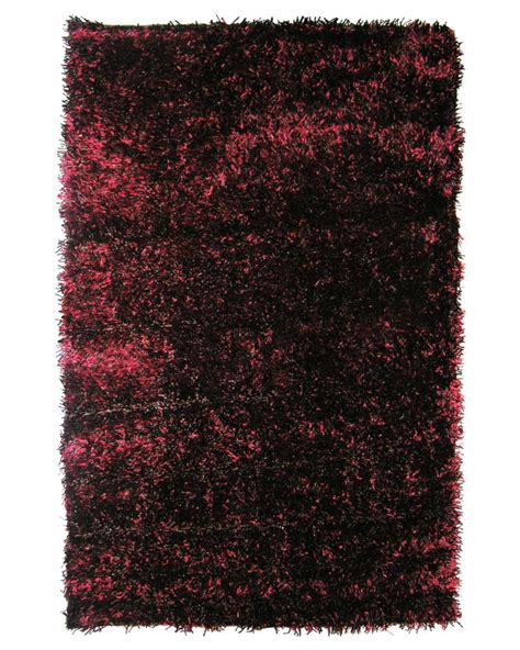 lanart rug spice ribbon shag 4 ft x 6 ft area rug the