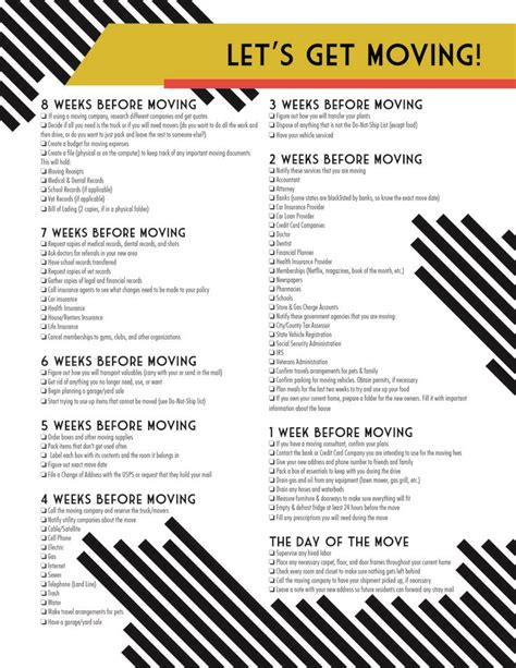 relocation package template 17 best ideas about moving checklist printable on