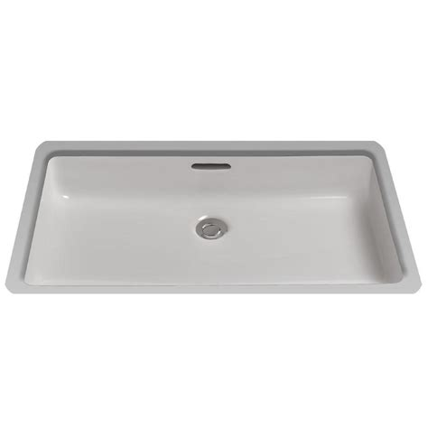 toto kitchen sinks toto 21 in rectangular undermount bathroom sink with