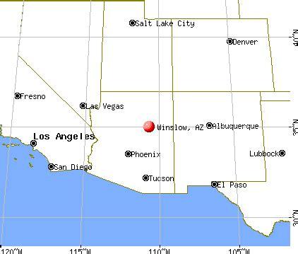 map of winslow arizona winslow arizona az 86047 profile population maps
