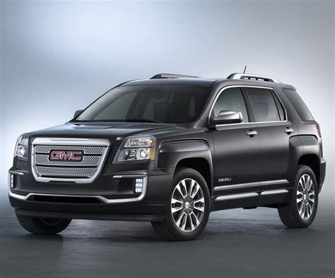 gmc redesign 2017 gmc terrain release date redesign and pictures