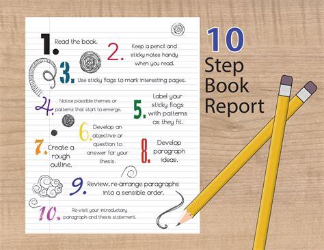 write  succesful book report