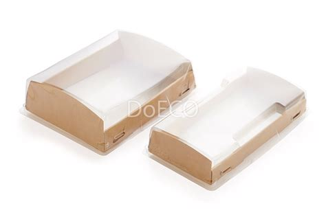 Plastic Covers by Show Box With Transparent Plastic Cover Doeco