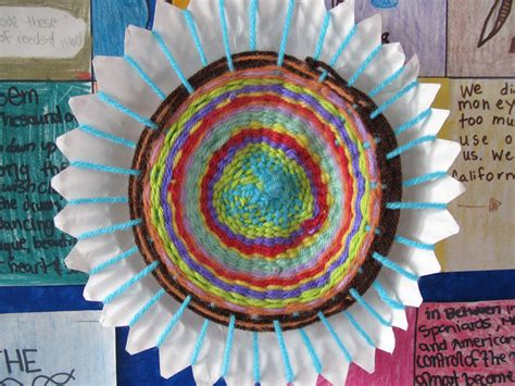 paper plate weaving craft lessons with laughter paper plate weaving step by step