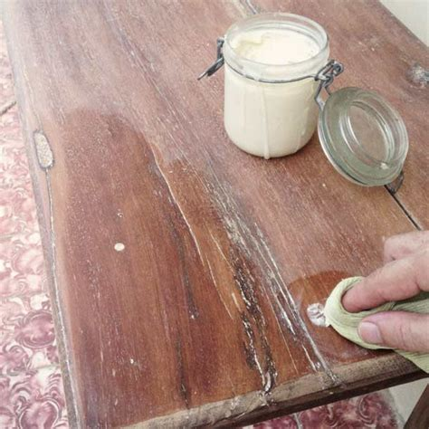 how to remove wax from a couch how to make bees wax furniture polish