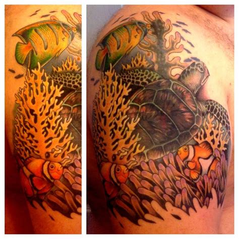 saltwater fish tattoos designs 18 best saltwater tattoos for images on