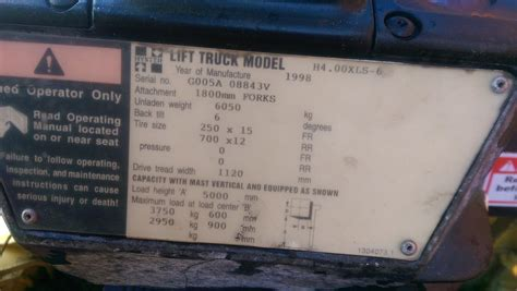 toyota number toyota forklift serial number year where do i find my