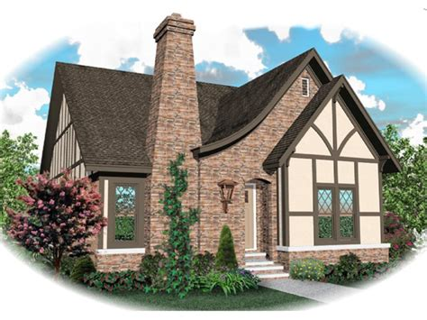 Apollo Hill Tudor Cottage Home Plan 087d 0699 House Small House Plans Tudor