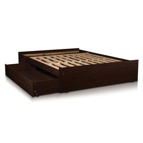 camas con somier box sommier base somier cama 2 plazas cajones y baulera