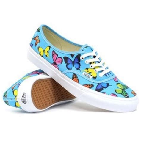 62 vans shoes vans butterfly print tennis shoes