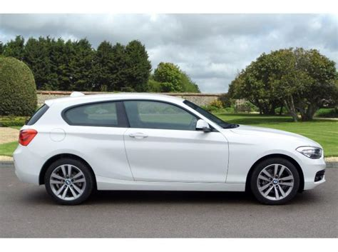used 2015 bmw 1 series 3 door sports hatch 1 6 118i sport