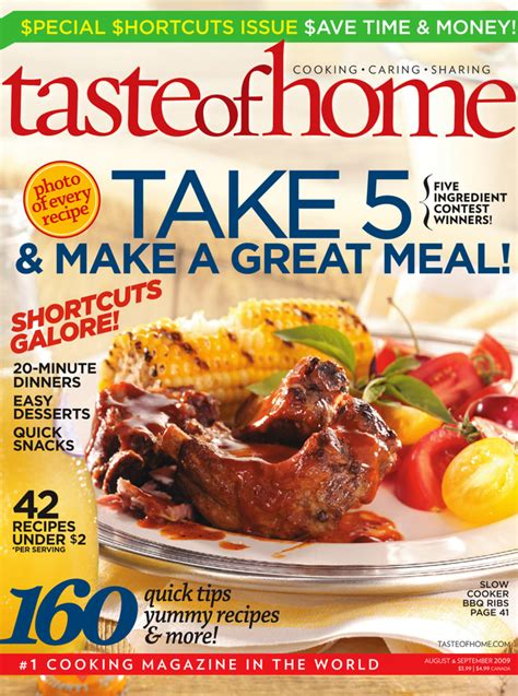 free 2 year subsctiption to taste of home