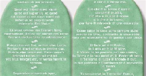 tavola di smeraldo di ermete trismegisto l informamico e book e book tavole di smeraldo di ermete