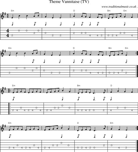 theme songs guitar guitar tabs 007 theme song 187 music sheets chords