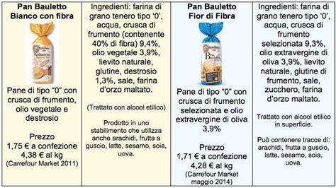 alcool etilico alimentare prezzo pan bauletto fior di fibra mulino bianco migliora il pane