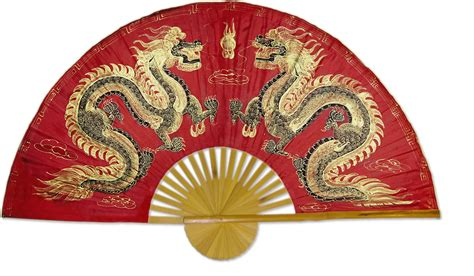 Bird Decorations For Home by Chinese Wall Fans Fiery Dragons