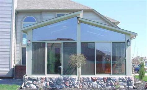 Split Level Style Split Roof Sunroom Gallery Mr Enclosure Michigan