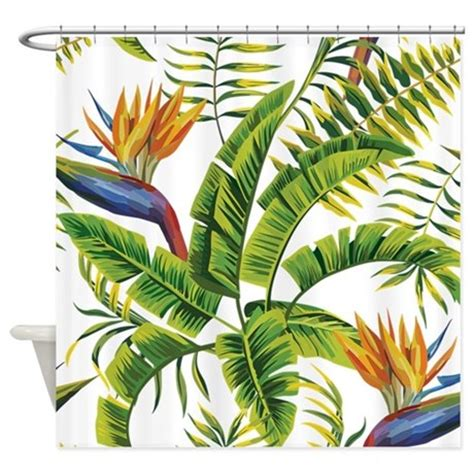 bird of paradise curtains bird of paradise shower curtain by getyergoat
