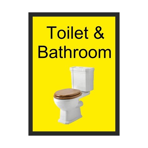 toilet bathroom signs for home toilet bathroom dementia sign 200 x 300mm