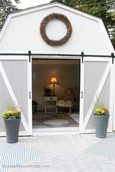 shed farmhouse reveal hoosier homemade