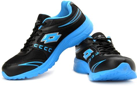 Sneakers Fashion Ad Hpd 347 Abu lotto treasure running shoes for buy black blue color lotto treasure running shoes for