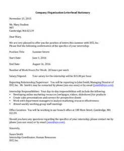 offer letter from employer offer letter from