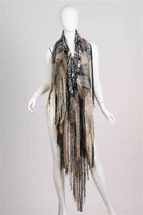 Pasmina Velvet Vip 2 1920s silk velvet fringed shawl at 1stdibs
